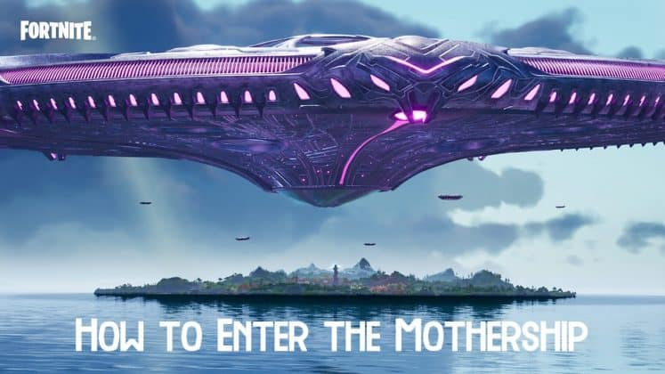 How to Enter The Mothership In Fortnite Season 7