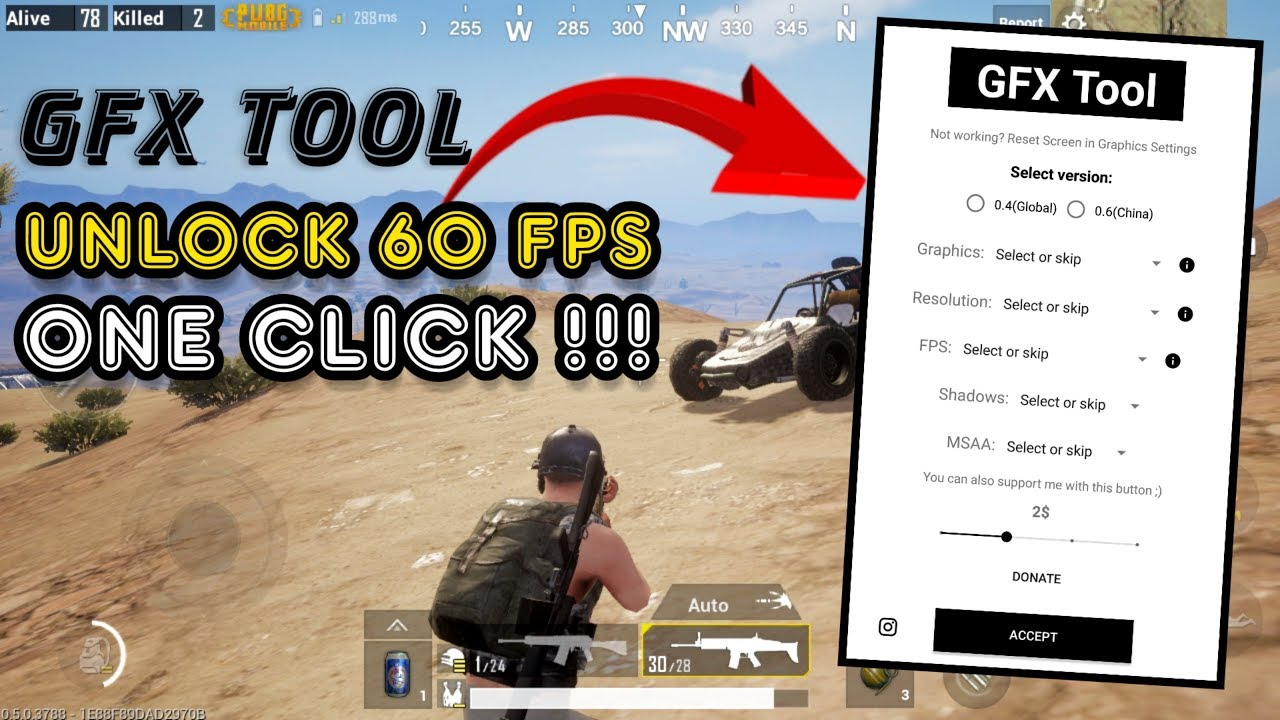 Best GFX Tool For BGMI | Full Details with Download