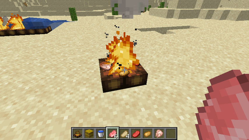 How to Make Campfire Recipe in Minecraft {Complete Guide}