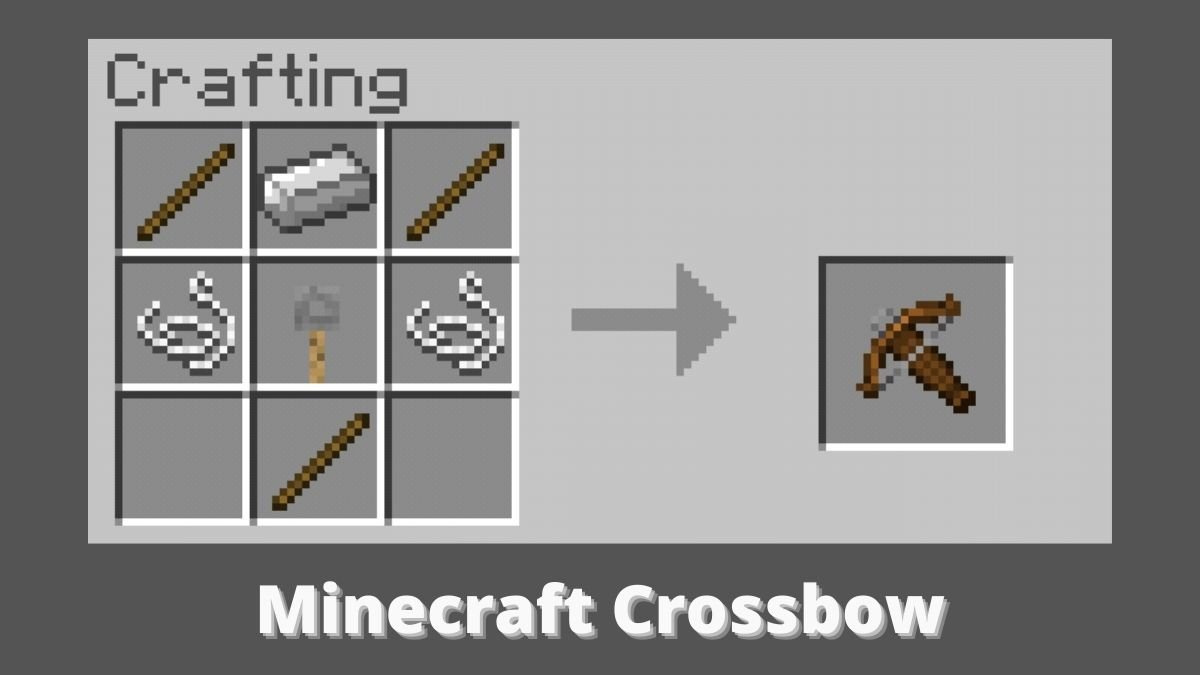 How to Make a Crossbow in Minecraft {Complete Guide}