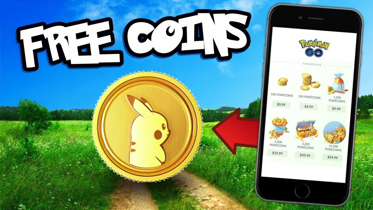 How to Get Free Coins in Pokemon Go {Step By Step Guide}
