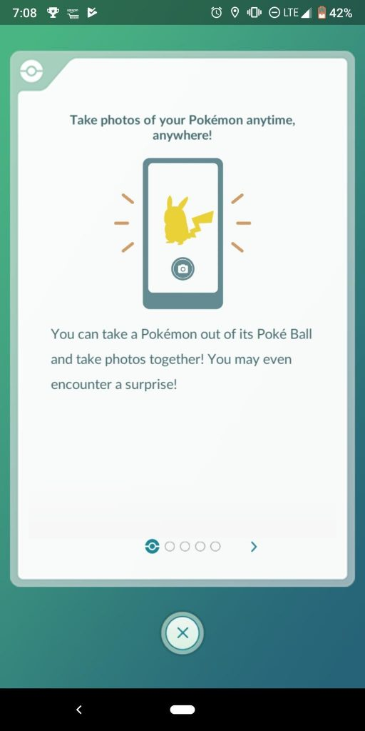 How to Take a Snapshot in Pokemon Go