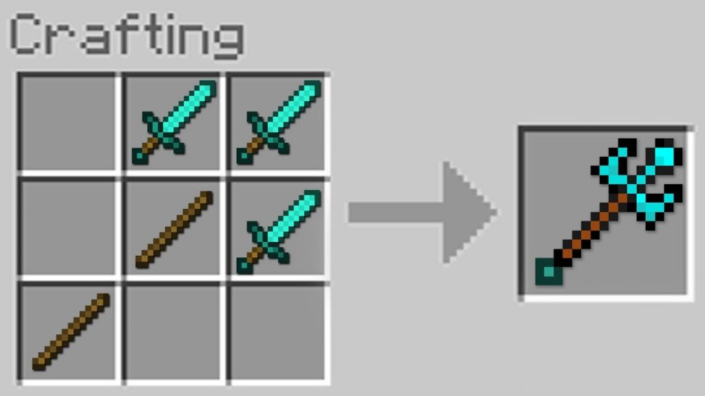 How to Craft a Trident in Minecraft