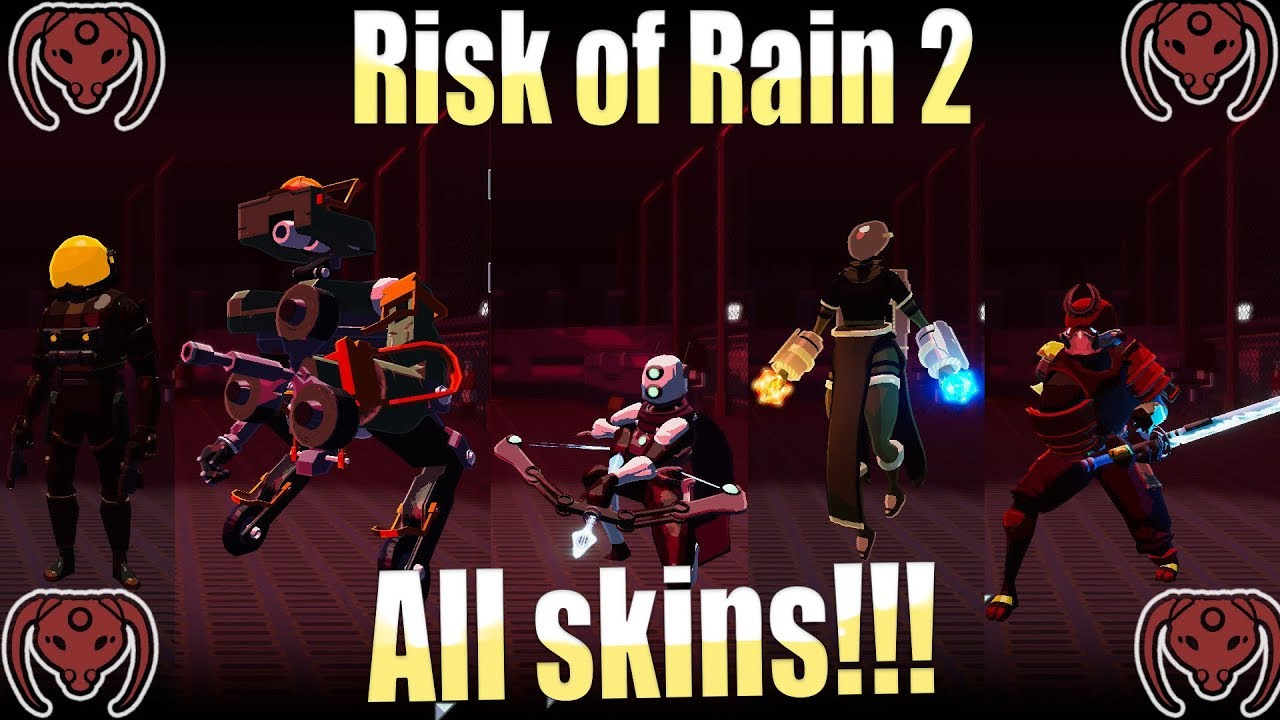 Risk of Rain 2 Skins | All Skins for All Characters