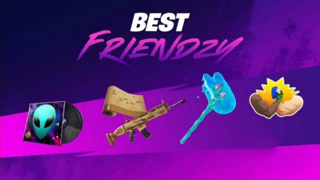 How To Complete All Best Friendzy Challenge In Fortnite