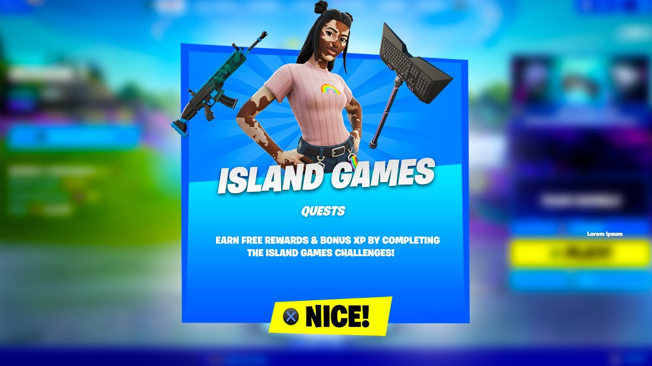 Island Games Quests In Fortnite