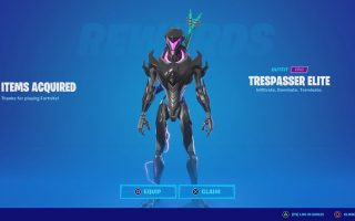 How To Get The Trespasser Elite Skin For Free