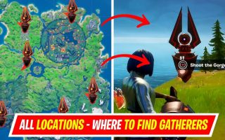 How to Destroy Fortnite Gatherers and Locations