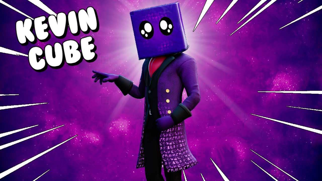 How to get Kevin the cube skin for free in Fortnite