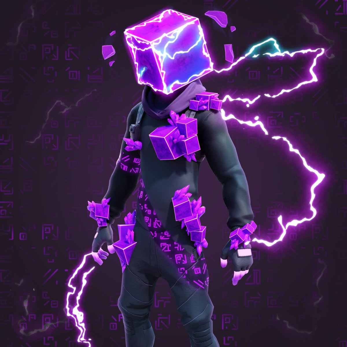 Kevin the Cube Skin